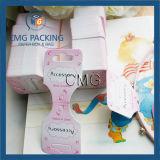 Kundenspezifisches Papierfirmenzeichen druckte Haar-Bogen-Stirnband-Haar-Klipp-Bildschirmanzeige-Karten