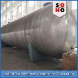 - Tipo orizzontale efficiente altamente qualificato iso serbatoio dell'acciaio inossidabile liquido