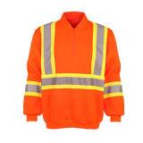 100 % polyester Veste de sécurité réfléchissant d'hiver