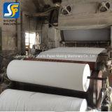 Ткани для распознавания лиц бумагоделательной машины/туалетной бумаги цена машины