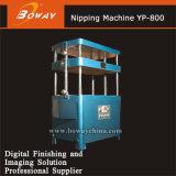 Machine de pincement d'aplatissement de Chambre d'impression de Boway pour appuyer des livres collant le carton Yp-800 de livres