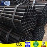 Rmeg soldada de acero templado para la construcción de Tubo Redondo negro