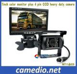 7 polegada de Serviço Pesado 24V do barramento CCD/caminhão Kit do Sistema de Câmera para visão traseira