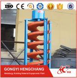 Benefication procesar el mineral zircón separador de tubo en espiral