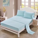 Embroidery Brushed Microfiber Bedsheet Bedding Set