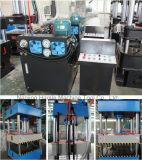 Macchina con la macchina della pressa idraulica delle 4 colonne