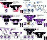 Customized Homens Mulheres Crianças Leitura Echl Royals 2008-2012 Hóquei no Gelo Jersey