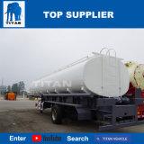 A Titan 38000 litros depósito de combustível do eixo triplo do reboque-cisterna para venda