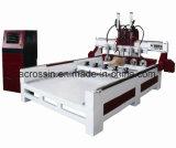 Маршрутизатор CNC 8 шпинделей головок Multi деревянный для сбывания