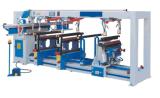 マルチスピンドル木製粉およびボーリング機械4の列の鋭い機械