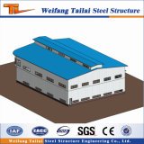 Heißer Verkauf Galvnaized Fertighaus-Stahlkonstruktion-Bauunternehmen