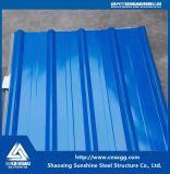 Farbe beschichtetes galvanisiertes Stahlpanel-Dach-Blatt