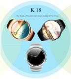 둥근 스크린 심박수 모니터 지능적인 시계