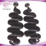 Cheveu de Brésilien de Vierge d'onde de corps de cuticle du meilleur cheveu fabuleux de qualité d'approvisionnement plein
