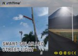 Infrared Motion sensor Light control solarly Powered Street Lamp