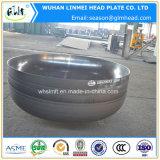 Protezione di estremità calda del contenitore a pressione della testa del piatto dell'acciaio inossidabile di vendita