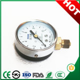Flange Connection와 Stainless Steel를 가진 최상 50mm General Pressure Gauge Manometer