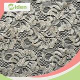 Tecido de rendas de malha Tecido de noiva bordado nupcial de damasco