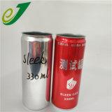 L'impression couleur café en aluminium peut vider soude peut 330