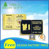 Золотые монетки 24k атмосферы способа поставкы изготовленный на заказ сжатые чисто