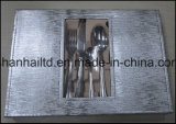 24PCS Stainless Steel Cutlery Set