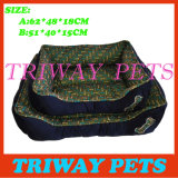 Bone Printed Style Dog Cat Pet Beds (WY161054A / B)