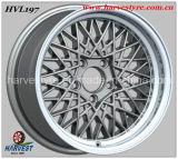 De volledig-schildert Zilveren Wielen van de Auto van het Aluminium