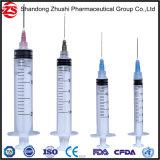 Устранимый свободно образец шприц Intravenous выскальзования Luer 3 частей