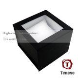 Eleganter Samt-Einlegearbeit-Pappgeschenk-Schmucksache-Kasten
