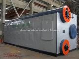 Промышленный газ/масла/двойной топливный 8400 квт бойлер горячей воды под давлением