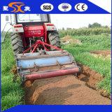 前の高品質の真新しい農場か農業のベッドまたはリッジ
