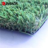 屋外の庭の装飾的で自然な一見の景色の草