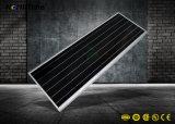 Réverbère intelligent actionné solaire de l'intense luminosité DEL de modèle modulaire