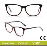 Frames a0066-A van Eyewear van het Ontwerp van Italië van de Frames van de Glazen van het Ontwerp van Europa van de Douane van de manier de Optische