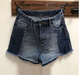 2019 OEM ODM wasten de Hete Dames van het Denim van de Verkoop Korte Jeans