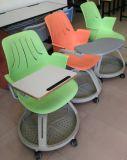メモ帳(SF-50F)が付いている調節可能なSteelcaseのプラスチック学校のトレーニングの椅子