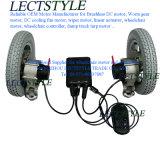 힘 DC 관제사 & 휠체어 조이스틱을%s 가진 무브러시 휠체어 허브 모터
