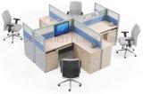 رخيصة حديثة مكتب [غلسّ برتيأيشن] حجيرة مركز عمل مستديرة ([سز-وست769])