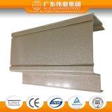 Perfil industrial de alumínio da extrusão com tratamento da eletroforese