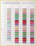 Kaart van de Kleur van de Draad van het Merk van Sakura de Metaal met 592 Kleuren in Voorraad