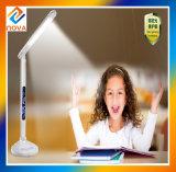 2017 último toque LED lámpara de mesa, cargador de teléfono USB Lámpara