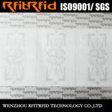 Marke des UHFdiebstahlsichere glatten Papier-RFID für Vermögensverwaltung