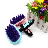 Инструмент холить любимчика перевозчика волос шерсти любимчика гребня силикона собаки Bathbrush массажа любимчика мягкий