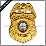 Значок полиций металла Nypd для нас эмблема (BYH-10016)