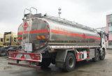 30000 L Shacman 3 árboles 30 toneladas de aluminio de la aleación de carro de petrolero