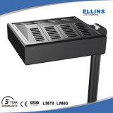 높은 루멘 125~130lm/W Adjusttable 옥외 LED 가로등 150W
