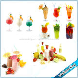 China Factory Sell 4 Tanks Refrigerated Dispenser Juice Fruit Juicer Machine