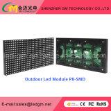 Afficheur LED fixe polychrome extérieur de P8 SMD pour annoncer l'écran
