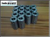 Pieza de maquinaria de fabricación molida dada vuelta aluminio del CNC de los recambios del acero que trabaja a máquina inoxidable