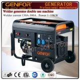 Open Type New Design Gerador elétrico de solda de gasolina de fase única 200A para venda